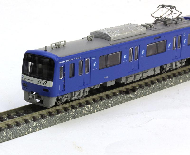 京急600形 KEIKYU BLUE SKY TRAIN SRアンテナ付 8両セット【マイクロエース・A7178】「鉄道模型 Nゲージ」