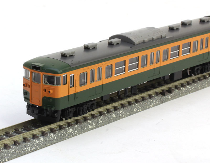115-300系近郊電車(湘南色)基本セットB (4両)【TOMIX・98224】「鉄道模型 Nゲージ トミックス」