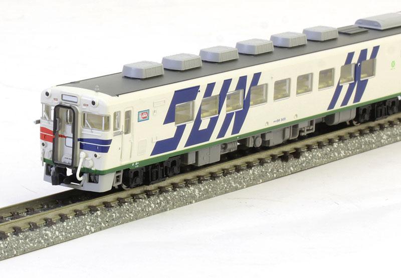 キロ59・29系 米子お座敷 ふれあいSUN-IN 登場時 3両セット【マイクロエース・A9859】「鉄道模型 Nゲージ」