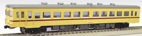 【真鍮製】国鉄キハ26-101~ 一段窓(M)(準急色)【エンドウ・D434】「鉄道模型 HOゲージ 金属」