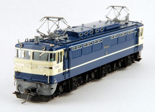 【真鍮製】EF65 500番台 P型(完成品)【カツミ・KTM-15】「鉄道模型 HOゲージ 金属」