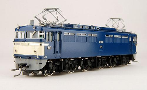 【真鍮製】EF65 一般型(完成品)【カツミ・KTM-16】「鉄道模型 HOゲージ 金属」