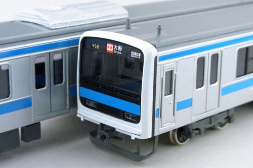 【真鍮製】JR東日本209系 C中間2両セット【カツミ・KTM-23】「鉄道模型 HOゲージ 金属」