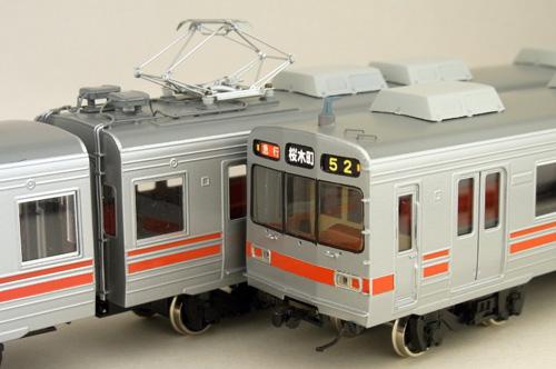 真鍮製 東急8090系 東横線 B-2増備車用 中間4両セット カツミ KTM-27 鉄道模型 HOゲージ 金属 防災 喜寿祝 お祝い