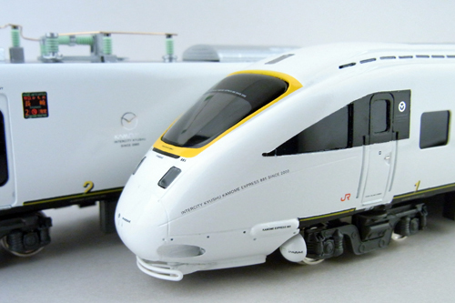 【真鍮製】JR九州885系かもめ 6両セット(完成品)【カツミ・KTM-42】「鉄道模型 HOゲージ 金属」