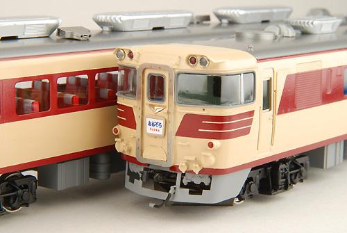 【真鍮製】国鉄キハ80M(完成品)【カツミ・KTM-45】「鉄道模型 HOゲージ 金属」