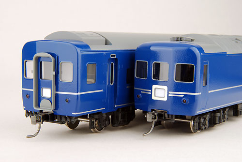 【真鍮製】オハネフ25-200 銀帯車(完成品)【カツミ・KTM-85】「鉄道模型 HOゲージ 金属」