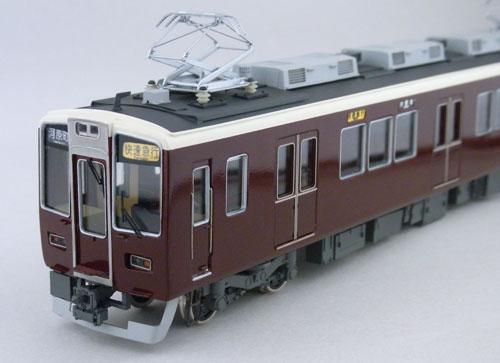 【真鍮製】阪急新8300系 B中間2両セット(完成品)【カツミ・KTM-99】「鉄道模型 HOゲージ 金属」