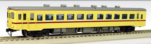 【真鍮製】国鉄キハ55-101~ 一段窓(M)(準急色)【エンドウ・D432】「鉄道模型 HOゲージ 金属」