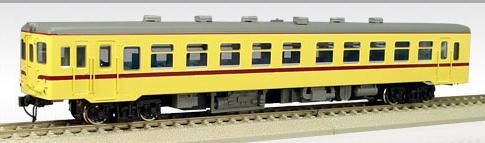 【真鍮製】国鉄キハ26-1~ バス窓(M)(準急色)【エンドウ・D433】「鉄道模型 HOゲージ 金属」