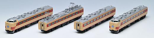 ※再生産 8月発売※485 300系特急電車基本4両セット【TOMIX・92426】「鉄道模型 Nゲージ トミックス」
