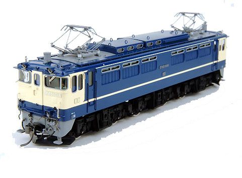 【真鍮製】EF65 1000(車体キット)【カツミ・KTM-106】「鉄道模型 HOゲージ 金属」