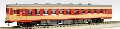 【真鍮製】国鉄キハ55-16~ バス窓(M)(急行色)【エンドウ・D441】「鉄道模型 HOゲージ 金属」