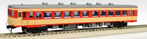 【真鍮製】国鉄キハ26-101~ 一段窓(M)(急行色)【エンドウ・D444】「鉄道模型 HOゲージ 金属」