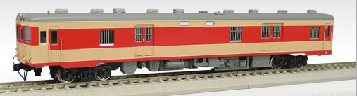 【真鍮製】国鉄キユニ26 バス窓種車タイプ(T)(急行色)【エンドウ・D451】「鉄道模型 HOゲージ 金属」