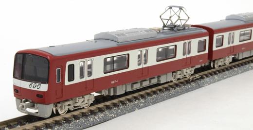 京急600形 更新車 8両編成セット (完成品)【グリーンマックス・4190】「鉄道模型 Nゲージ GREENMAX」