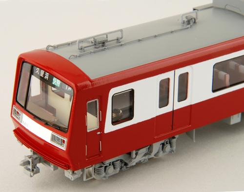 【真鍮製】京急2000形2扉車 快速特急時代 8両編成セット(完成品)【カツミ・KTM-173】「鉄道模型 HOゲージ 金属」