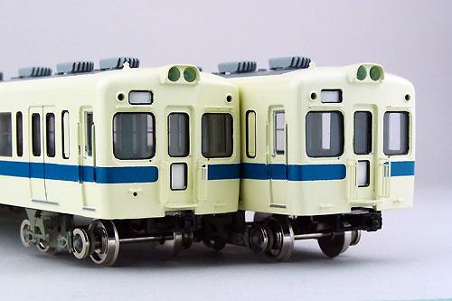 【真鍮製】小田急旧4000形 非冷房車 5両固定編成セット(完成品)【カツミ・KTM-187】「鉄道模型 HOゲージ 金属」