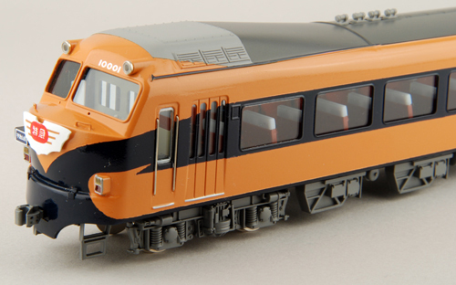 【真鍮製】近畿日本鉄道10000系「初代ビスタカー 塗装変更・前面更新タイプ」 7両セット(完成品)【カツミ・KTM-182】「鉄道模型 HOゲージ 金属」