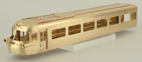 """【真鍮製】南海20000系""""こうや号"""" 4両セット(完成品)【カツミ・KTM-198】「鉄道模型 HOゲージ 金属」"""