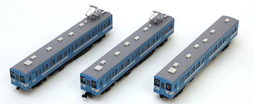 """國鐵119系統飯田線3輛組成安排""""鐵道模型N測量儀器GREENMAX"""""""