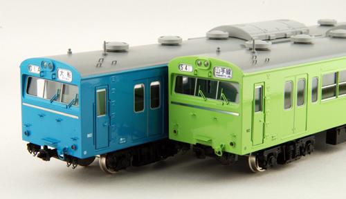 【真鍮製】モハ103  (山手線色・京浜東北線色) 【カツミ・KTM-210】「鉄道模型 HOゲージ 金属」