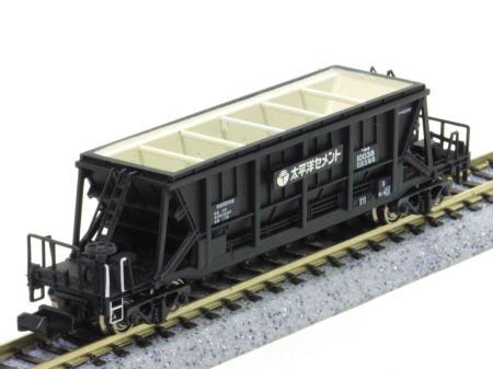 Hoki 10000 train model N scale popondetta in taiheiyo cement (coal)