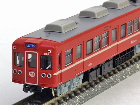 京成3150形更新車 新赤電色 8両編成セット(完成品モデル)【グリーンマックス・4324】「鉄道模型 Nゲージ GREENMAX」