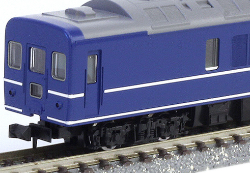 """蟹24 100形(M)""""鐵道模型N測量儀器客車"""""""
