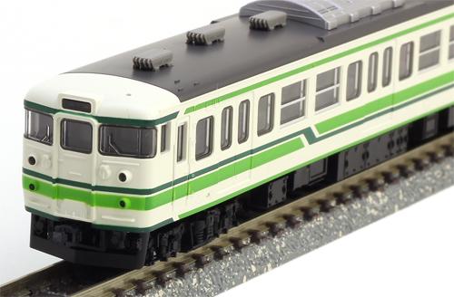 JR 115-1000系近郊電車(新潟色) 3両セット【TOMIX・92493】「鉄道模型 Nゲージ トミックス」