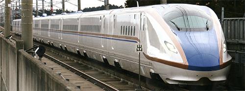 【真鍮製】JR東日本E7系北陸新幹線 12両セット【エンドウ・ESP1】「鉄道模型 HOゲージ 金属」