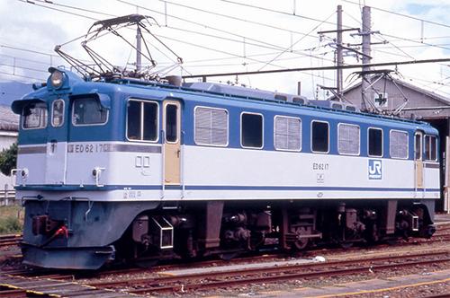 ED62-17・JR貨物色・飯田線【マイクロ・H-7-014】「鉄道模型 HOゲージ」