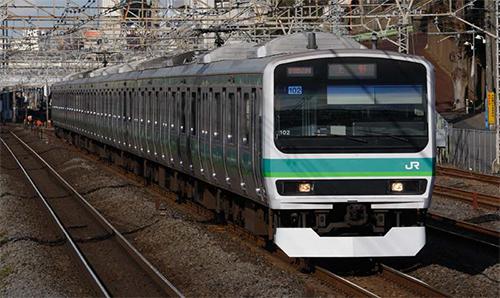 E231-0系通勤電車(常磐・成田線)2両増結セット【TOMIX・HO-9007】「鉄道模型 HOゲージ トミックス」