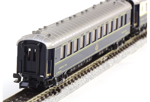 オリエントエクスプレス'88 (パリ-香港) 7両増結セット【KATO・10-1231】「鉄道模型 Nゲージ カトー」