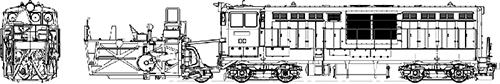 【HO】 国鉄DD14(M付)+前方投雪型前頭車【トラムウェイ・TW-DD14-FM】「鉄道模型 Nゲージ 蒸気機関車」