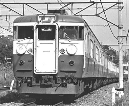 【真鍮製】国鉄/JR 115系 初期車 非冷房 横須賀色 サハ115 車体キット 【カツミ・KTM-277】「鉄道模型 HOゲージ 金属」