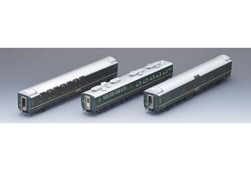 【HO】 24系25形 特急寝台客車(トワイライトエクスプレス)増結セットA 【TOMIX・HO-092】「鉄道模型 Nゲージ トミックス」