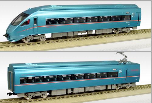 【真鍮製】小田急電鉄60000形「MSE」 6両編成Aセット【エンドウ・EP102】「鉄道模型 HOゲージ 金属」