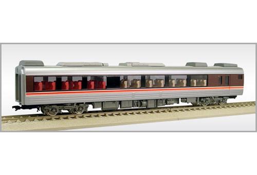 【真鍮製】JR東海 キハ85形 「ひだ」 キロハ84【エンドウ・D854】「鉄道模型 HOゲージ 金属」