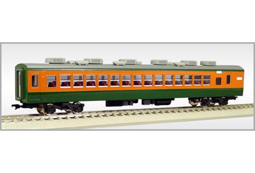【真鍮製】サロ110-1200番代後期型(1218-1288) (完成品)【エンドウ・E167】「鉄道模型 HOゲージ 金属」