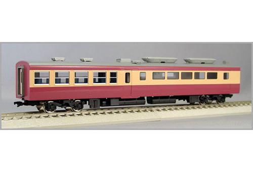 【真鍮製】国鉄451系「みやぎの」サハシ451(完成品)【エンドウ・E376】「鉄道模型 HOゲージ 金属」