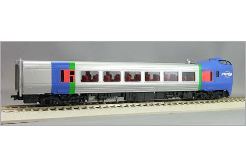 【真鍮製】キハ283偶数(札幌向き) 【エンドウ・D802】「鉄道模型 HOゲージ 金属」