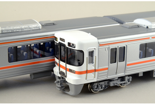 【真鍮製】JR東海C 313系2350番台 先頭2両セット【カツミ・KTM-218】「鉄道模型 HOゲージ 金属」