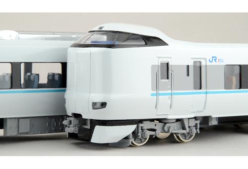 【真鍮製】JR西日本287系 くろしお A 基本編成 基本4両完成品 【カツミ・KTM-219】「鉄道模型 HOゲージ 金属」
