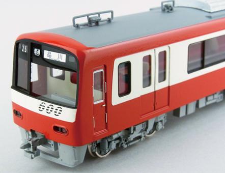 【真鍮製】京急新600形 8両編成 完成品【カツミ・KTM-222】「鉄道模型 HOゲージ 金属」