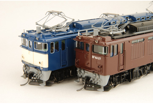 【真鍮製】EF64 37~45(車体キット)【カツミ・KTM-101】「鉄道模型 HOゲージ 金属」