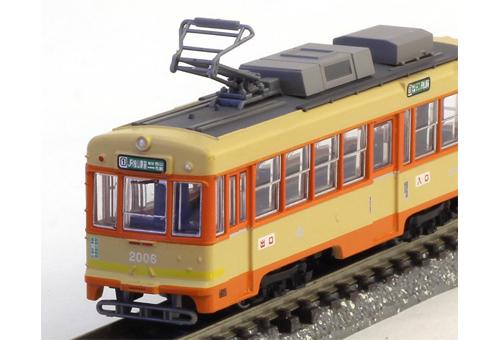 铁是枝伊予铁路 2000年系列 B (汽车 2006年) N 仪 TOMYTEC 火车模型