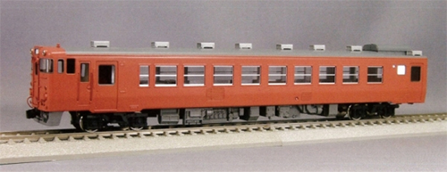 【真鍮製】キハ40系気動車 寒冷地用 キハ47-500 M(完成品)【エンドウ・D423】「鉄道模型 HOゲージ 金属」