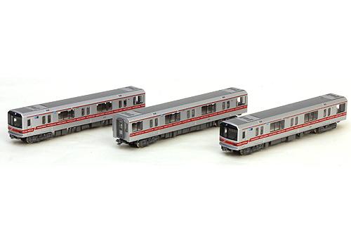 3 cars Kato Tokyo Metro Subway 02 Marunouchi Line 10-1249 Sine Wave N scale