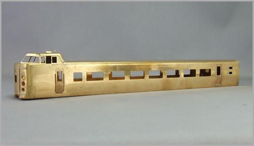 国鉄381系「しなの」 モハ380(P/M)【エンドウ・E663】「鉄道模型 HOゲージ 金属」